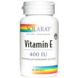 VITAMINA E 50 PERLAS SOLARAY