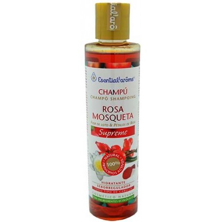 CHAMPÚ ROSA MOSQUETA SUPREME esential aroms comprar precio herbolariomalvarosa.com
