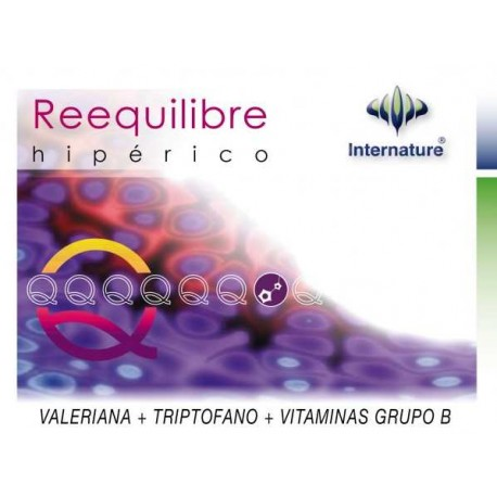 REEQUILIBRE 60 CAPSULAS HIPERICO INTERNATURE