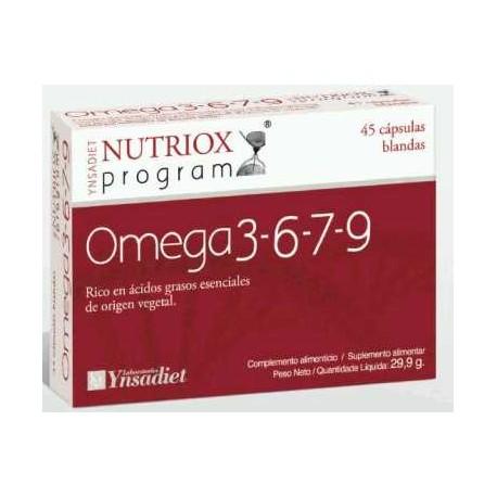 Omega 3 6 7 9 45 cápsulas