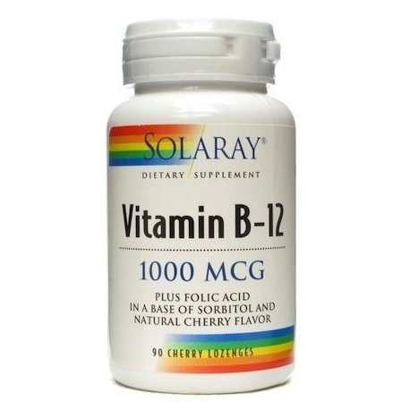 VITAMINA B12 1000MCG 90 COMP. SUBLINGUAL