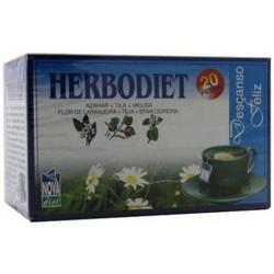 Herbodiet Descanso Feliz Nova Diet 20 filtros herbolariomalvarosa.com
