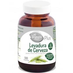 LEVADURA DE CERVEZA 500 COMP DE 400MG
