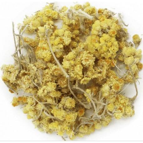 Helicriso sol de oro flores secas infusion