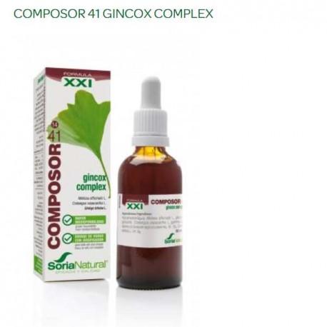 COMPOSOR 41 GINCOX 50ML SORIA NATURAL