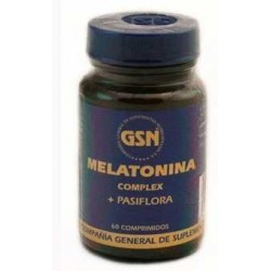 MELATONINA 1MG + PASIFLORA 120COMP. GSN