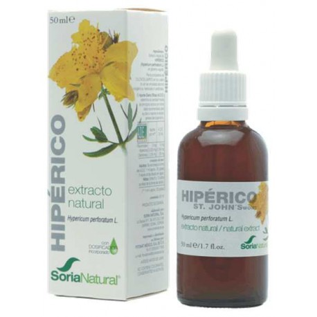 Hipérico extracto 50ml Soria Natural